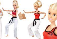 Barbie® Made To Move™ Martial Artist
