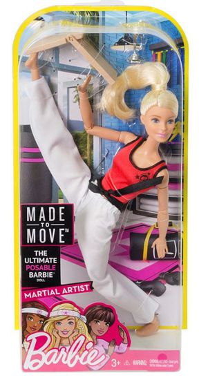 Barbie® Made To Move™ Martial Artist