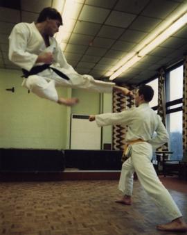 Bill Burgar Flying Kick