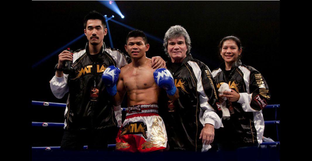 Bob Chaney Leg Checks in Muay Thai