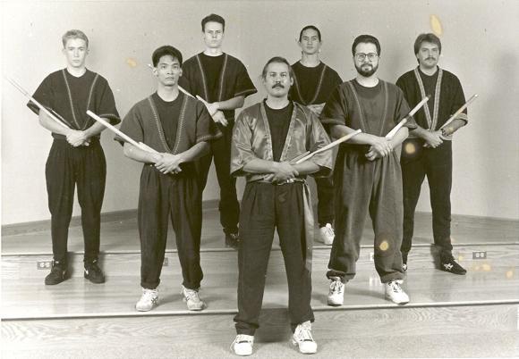 Guro Chuck Cadell and demo team 1992