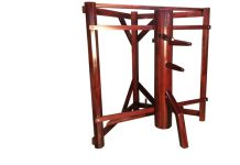 Everything Wing Chun Warrior's Wooden Dummy - with Corner Stand