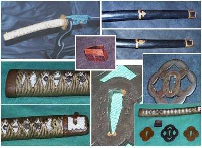 Koshirae Ornate Mountings Collage