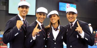Lopez Family Opening Ceremonies 2008 Olympics Beijing