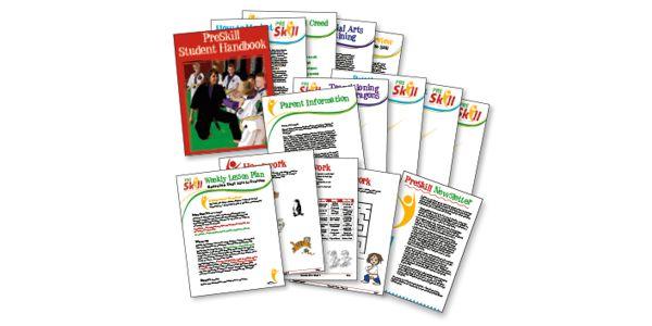 PreSkill Children's Martial Arts Currriculum