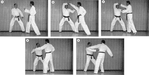 Truth about two-man block in Pyong Ahn Eedan form