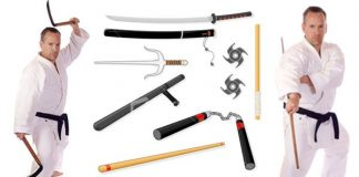 Traditional Weapons Barrington Tiger Academy