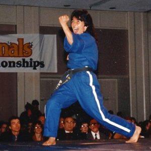Elsa Cordero Competeing
