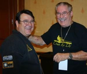 UFAF President Ken Gallacher and Tip Potter Director