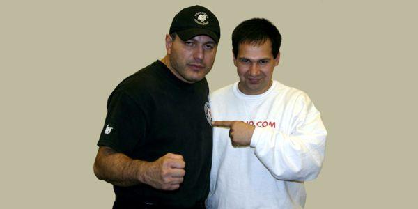 Gokor and Jesus Suarez