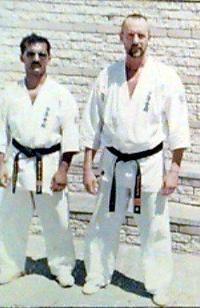 Hoosain Narker with Shihan David Cook 1993