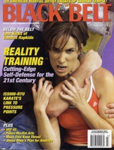 Meredith Gold Black Belt Magazine Cover