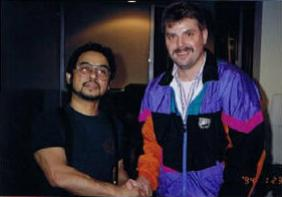 Guro Schwarz with the late Ted LucayLucay