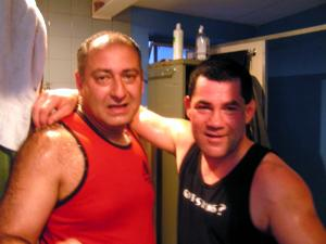Steve Sarkissian and Vince Palumbo