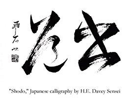 Shodo Japanese Calligraphy by H. E. Davey
