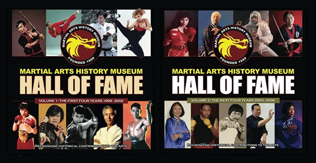 Martial Arts History Museum Hall of Fame Books
