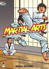 Martial Arts Coloring Book