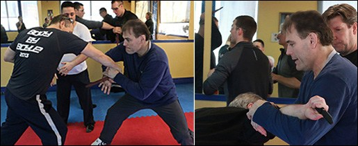 Defensive Knife Training with Sam Johnston