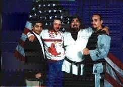 Zulfi Amed, Tim Kirby, Gary Lee and Butch Togosali