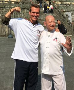 Tomm Voss and Master Zhou