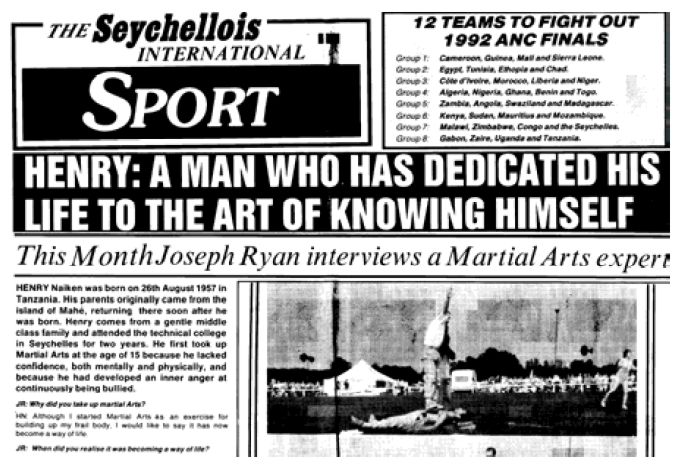Henry Naiken Interview by Joseph Ryan - 1990