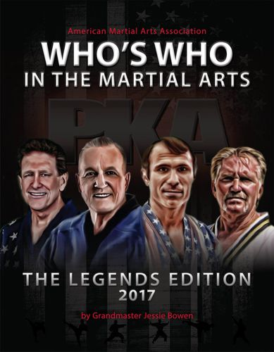 Who's Who in the Martial Arts Cover The Legend's Edition 2017
