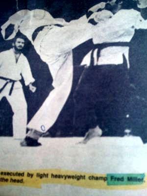 Light heavyweight champ Fred Miller