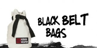 Black Belt Bags by Human Weapon