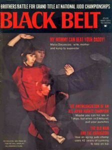 Malia Bernal Black Belt Magazine Cover