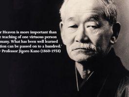 Jigoro Kano on Judo Instruction