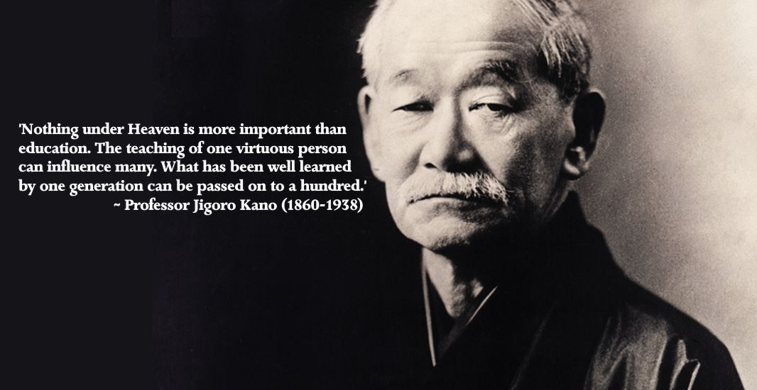 Jigoro Kano on Judo Instruction