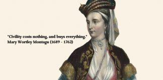 Montagu Quote
