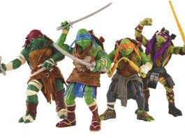 Playmates Toys Ninja Turtles from the Big Screen