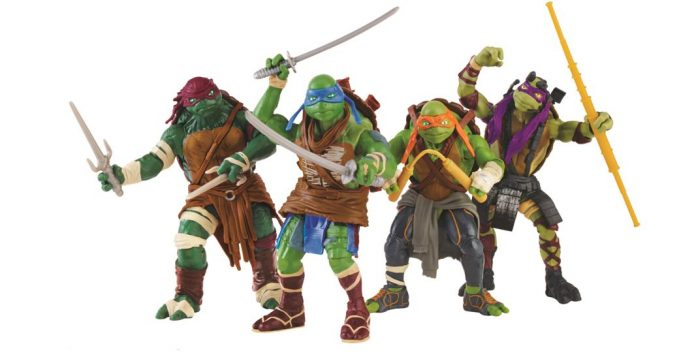 Playmates Toys Ninja Turtles from the Big Screen