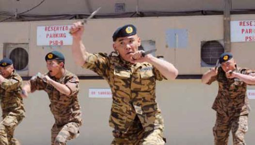 Weapons Training For Military Personnel