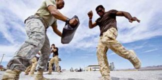 Martial Arts Training For Military Personnel