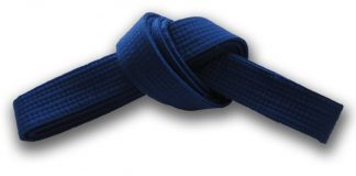 Blue Belt in Martial Arts