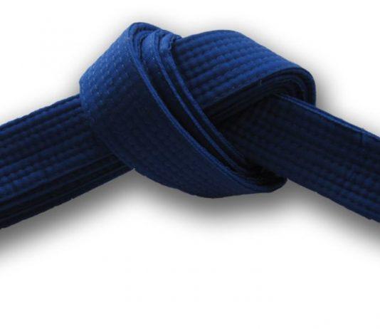 Blue Belt in Martial Arts