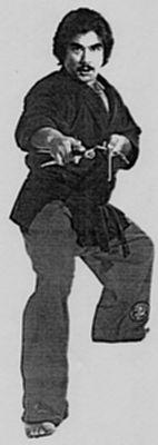 Gary Lee as a Black Belt