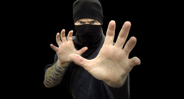 Self-Defense: Ninja Open Hands