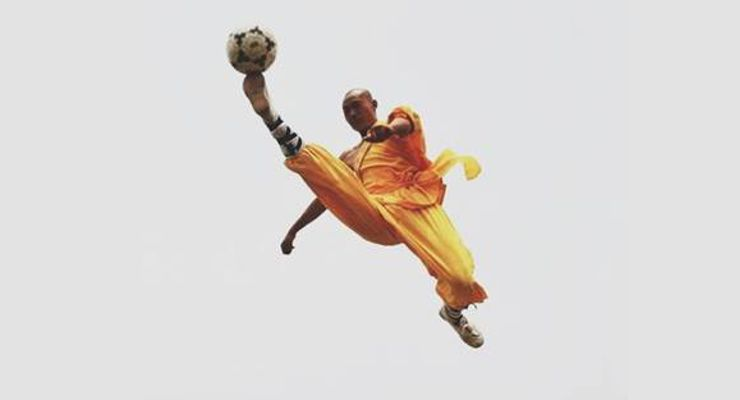 Shaolin Soccer Flying Kick