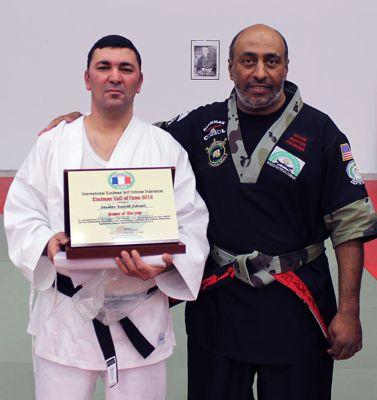 Kamal Amani and Grand Master Sami ALassaf