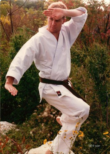 Karateka Andy Rutledge