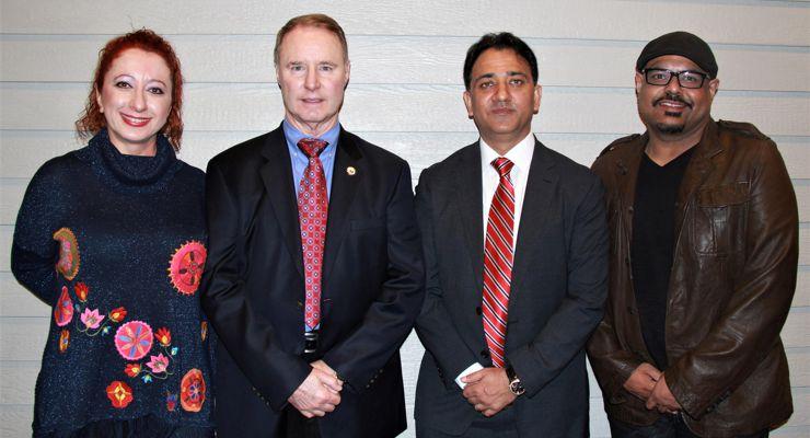 Lourdes Bethers, Bruce R. Bethers, Shammi Rana and Harpreet Arora.