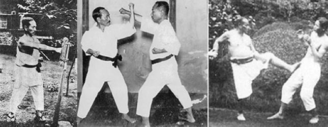 Gichin Funakoshi, Choki Motobu