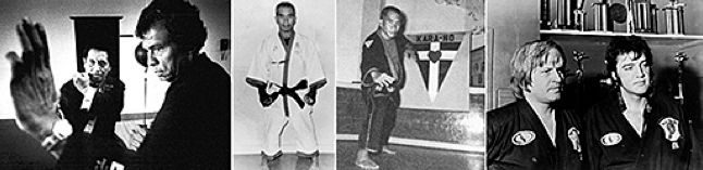 William Chow, Ed Parker, Elvis Presley