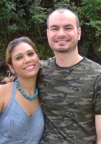 Fernando and Altagracia Figueroa of the Anti Trafficking Bureau