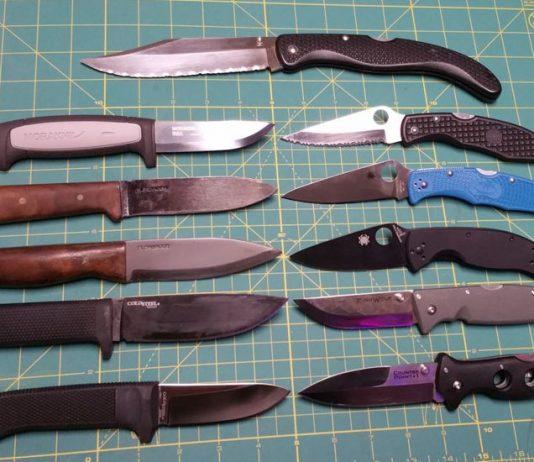 Tuhon Bill's 2018 EDC Knives