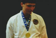 Chris Aldridge takes Gold at Raleigh, North Carolina State Karate Open