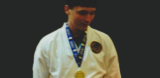 Chris Aldridge takes Gold at Raleigh, North Carolina State Karate Open